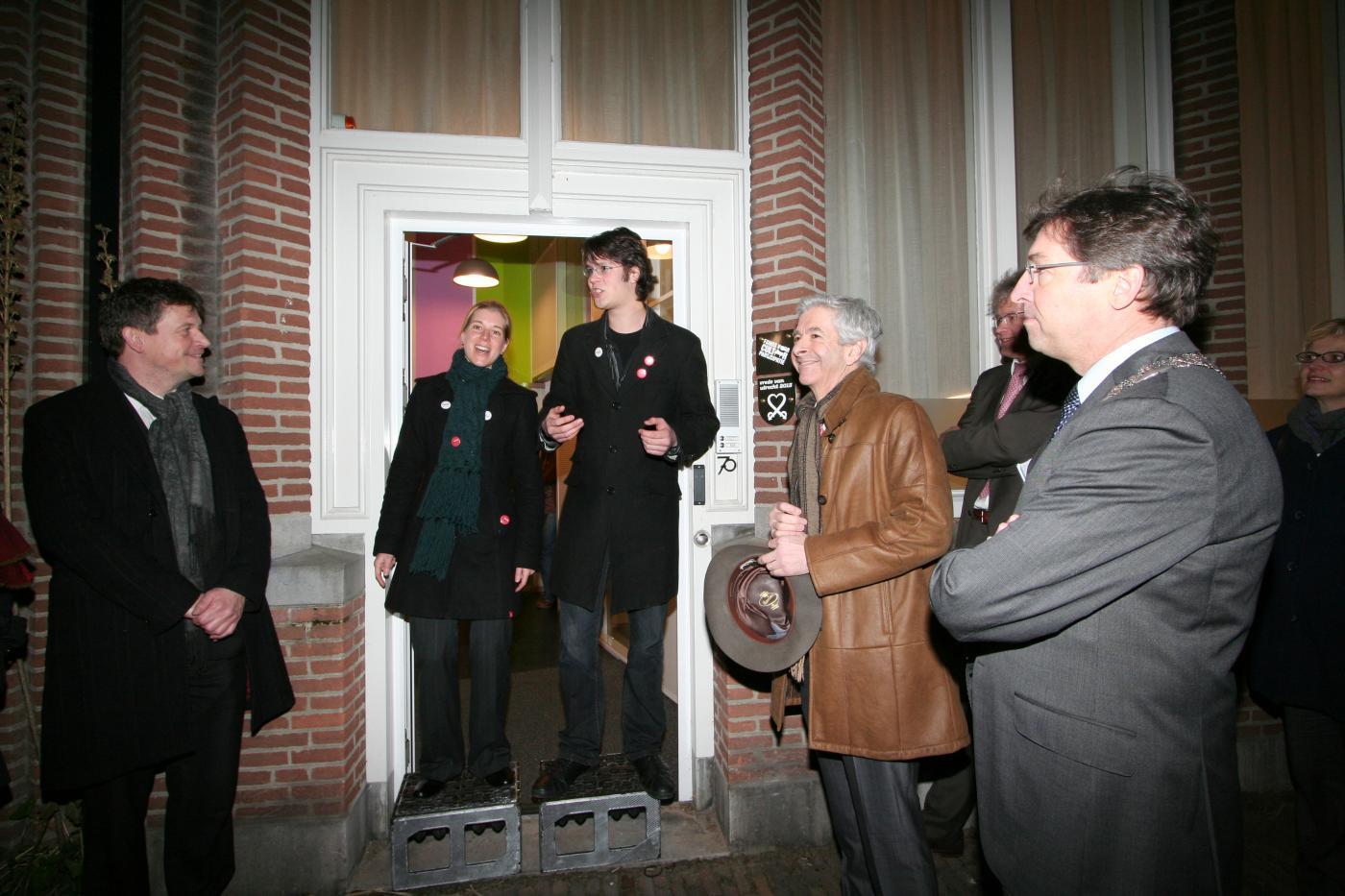 De opening van het gebouw in 2009