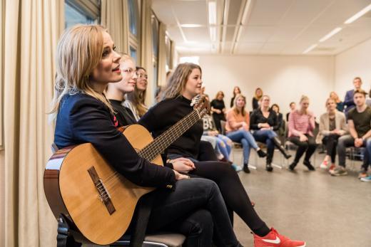 Professionalisering Muziekonderwijs op pabo's