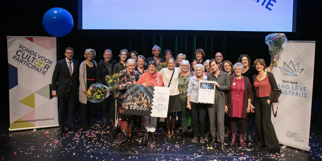 Gemeente Haarlem neemt BNG Bank Lang Leve Kunstprijs 2019 van 20.000 euro in ontvangst