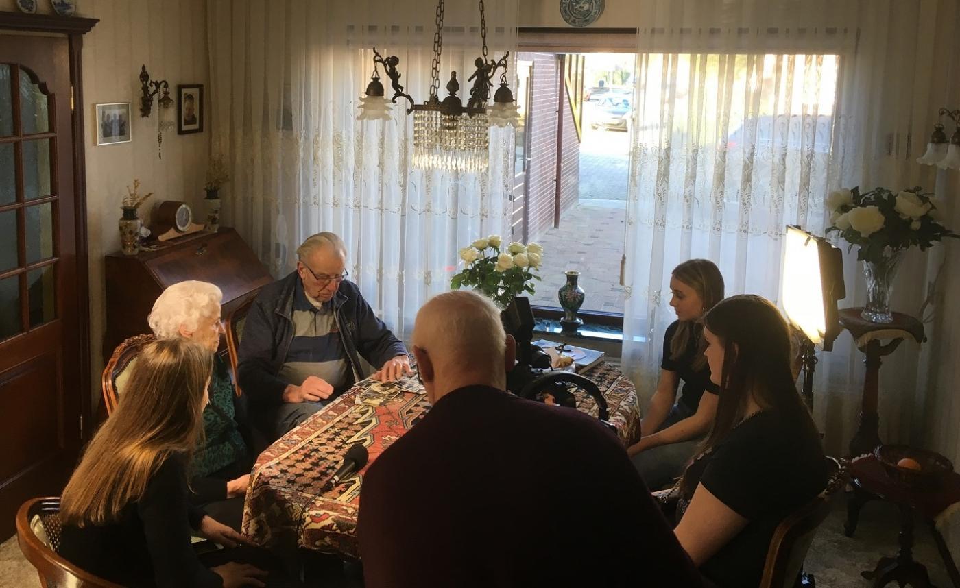 75 jaar vrijheid: jongeren ontmoet ouderen