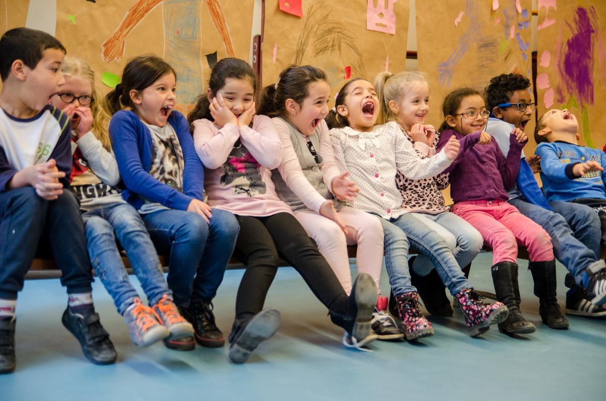 Children enjoying cultural education