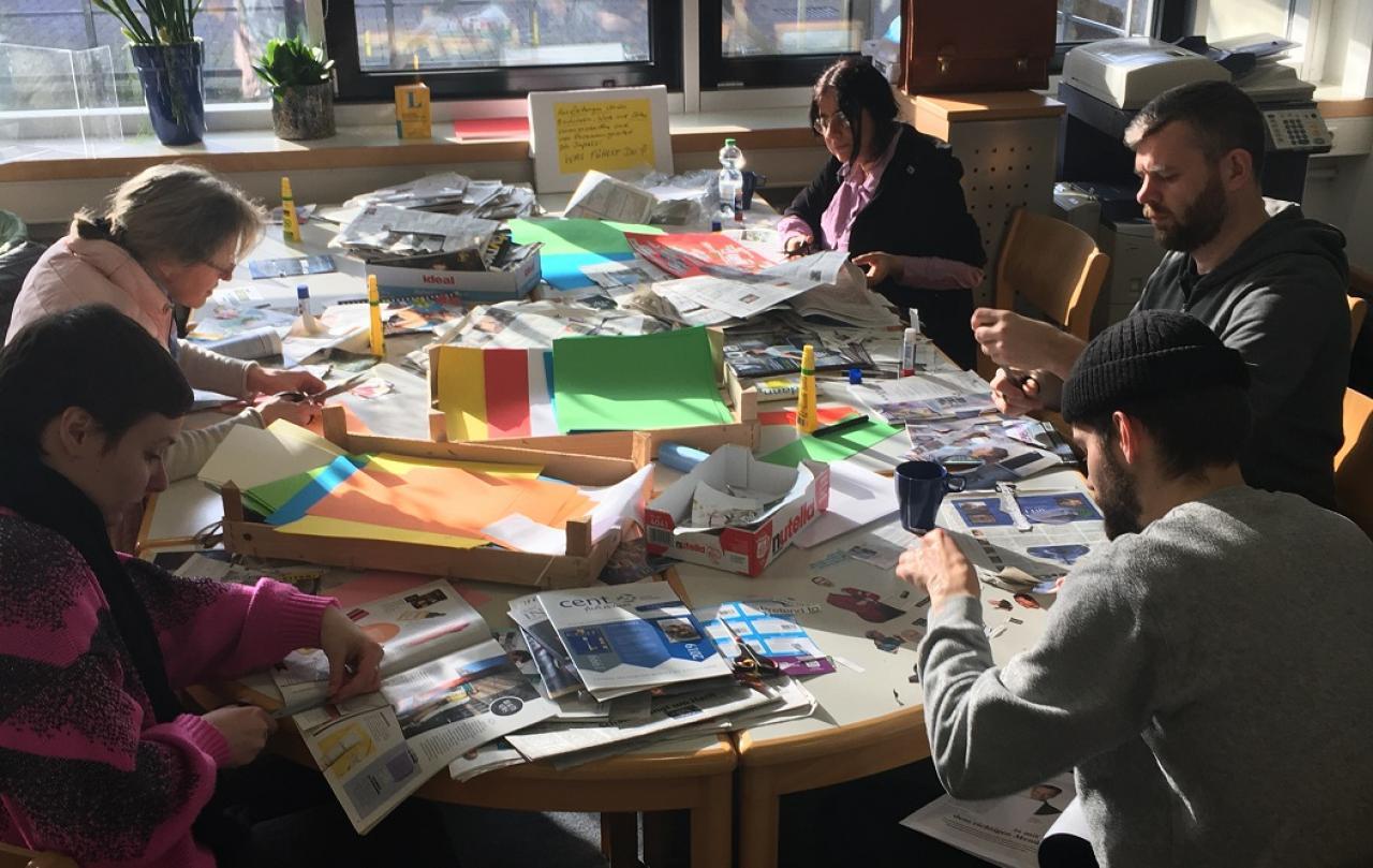 Samenwerking tussen Big Draw Nijmegen en Burg Hülshoff - Center for Literature