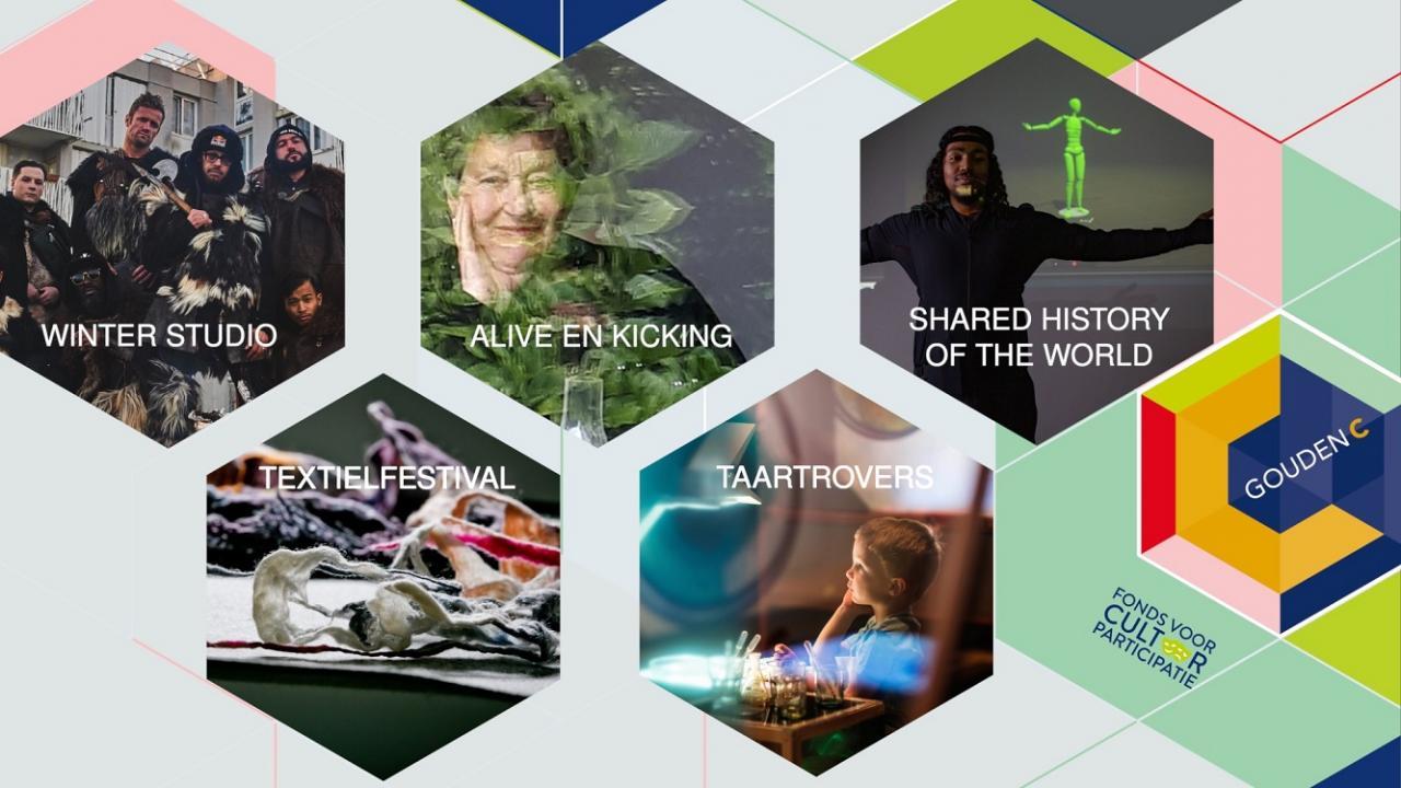De vijf genomineerden voor de Gouden C 2020