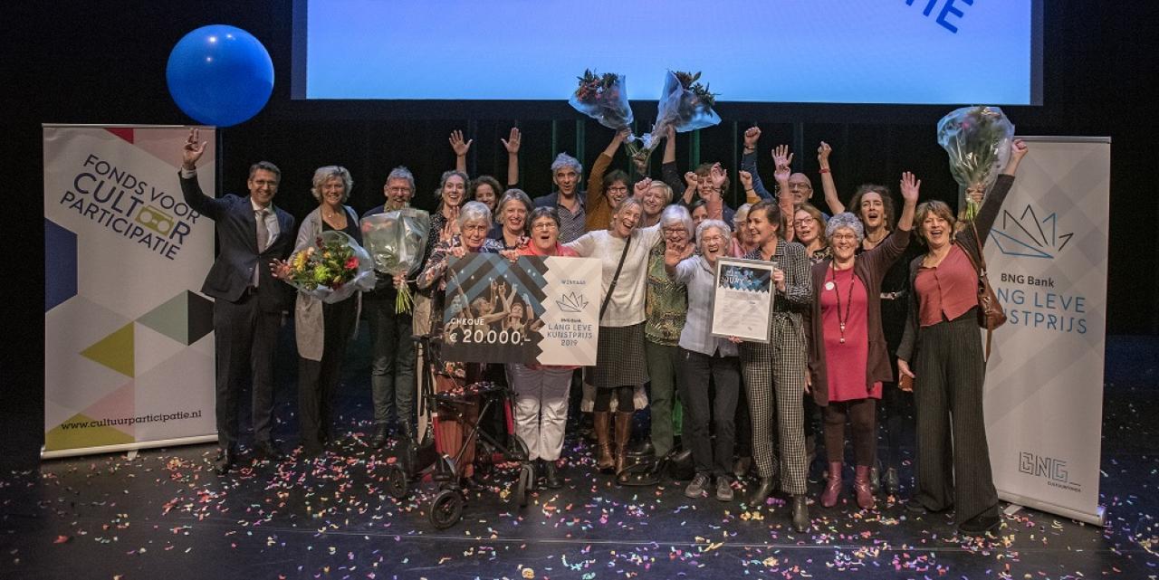 Gemeente Haarlem blij verrast met de BNG Bank Lang Leve Kunstprijs 2019 van 20.000 euro