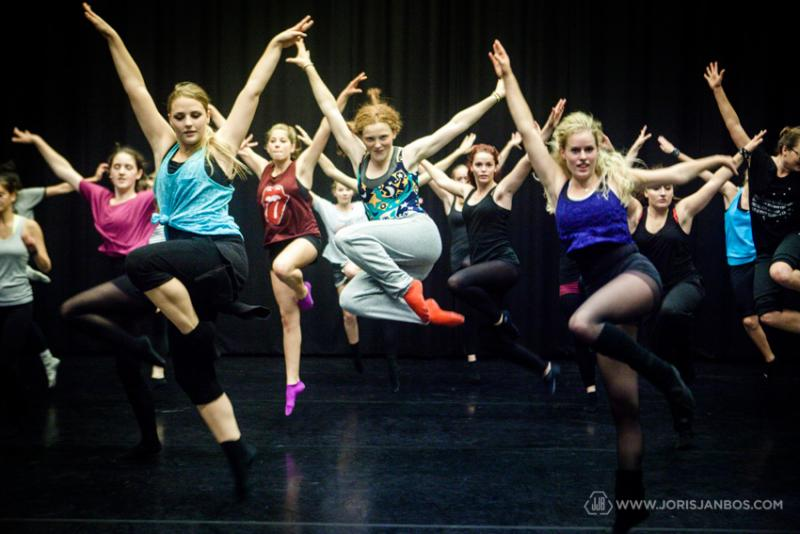Holland Dance werd in de vorige periode gesteund