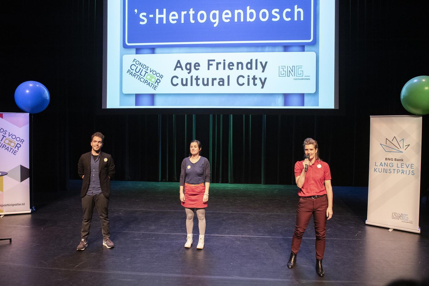 Dansvisite uit 's-Hertogenbosch vertelt over hun project