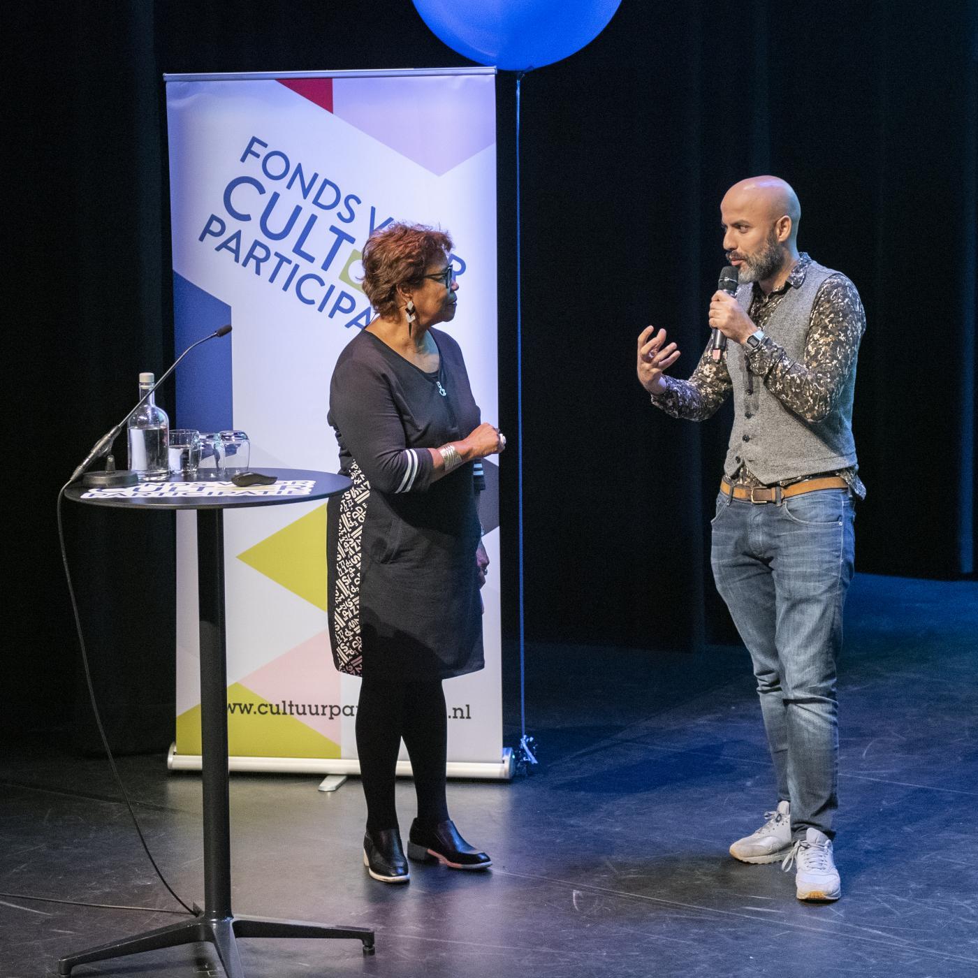 Yassine Boussaid, directeur van Theater De Meervaart in de Amsterdamse wijk Osdorp over de rol van het theater in de wijk