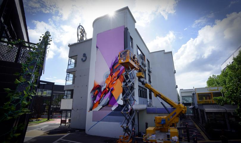 Graffiti artist Digital DOES – niet uit het veld te slaan