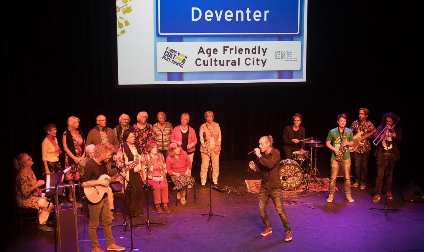 Het koor uit Age Friendly Cultural Deventer