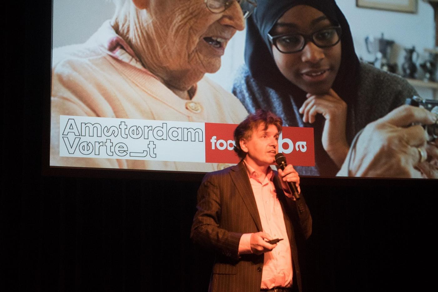 Martin Berendse, directeur OBA, over de rol van de bibliotheek in de stad voor ouderen