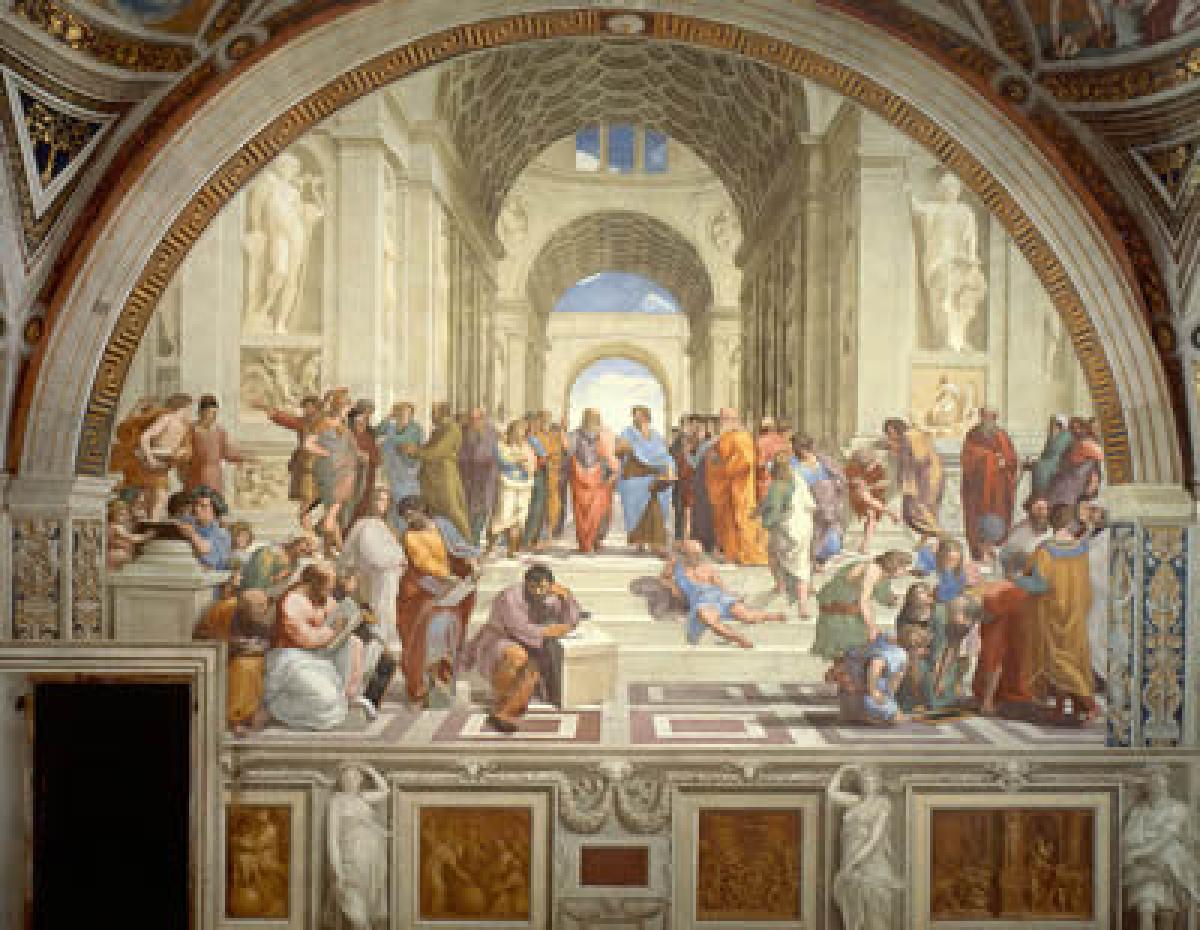 Rafaëls 'School van Athene'