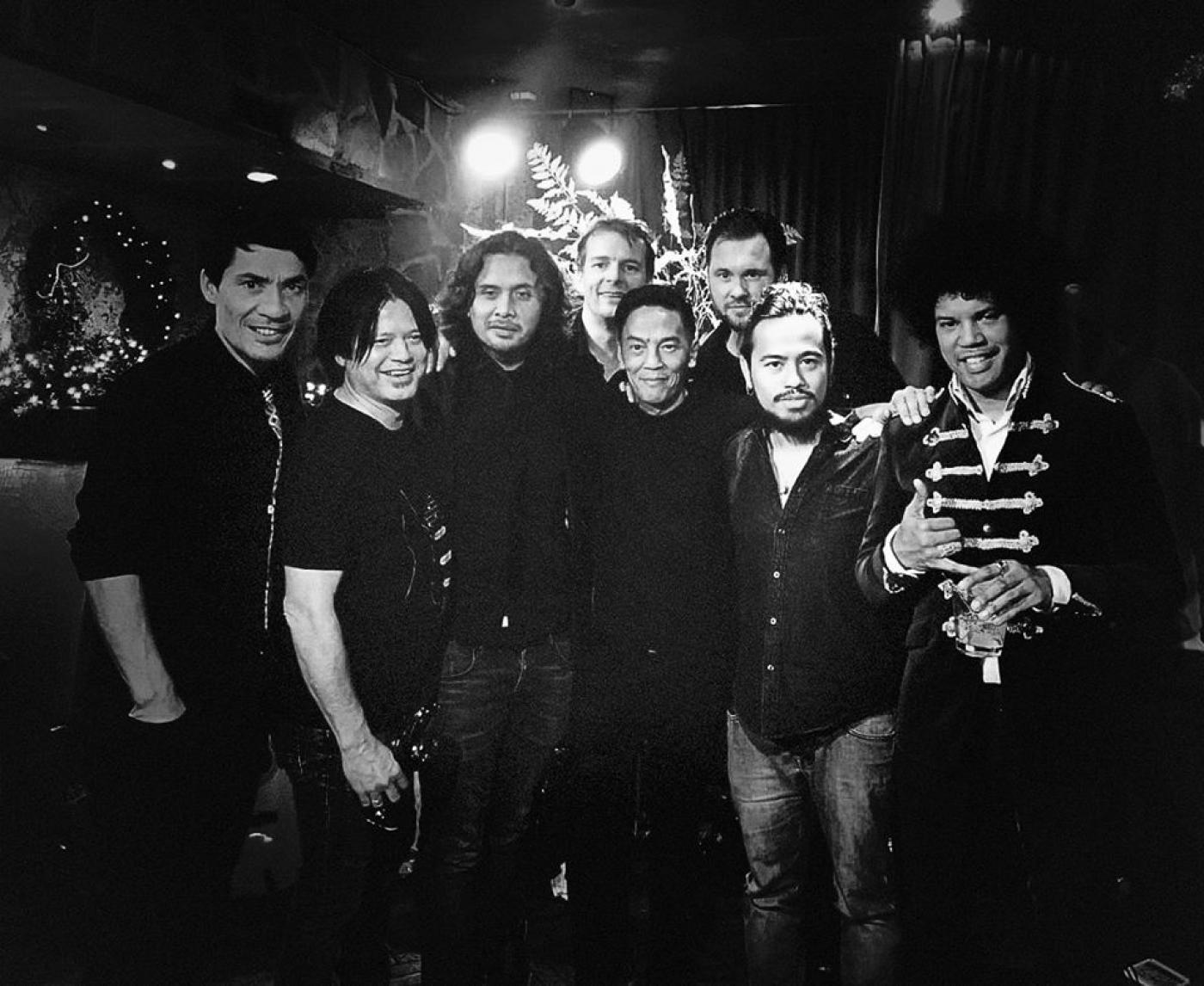 Gino organiseert nog maandelijks muzikale sessie Soulfood met top-profmusici in Mexicaans restaurant Gringo's in Doetinchem.