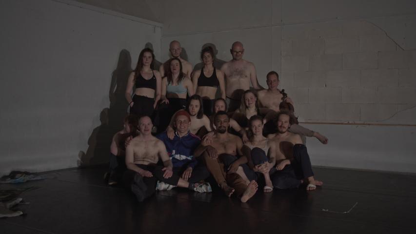 De spelers van Theaterwerkplaats Tiuri