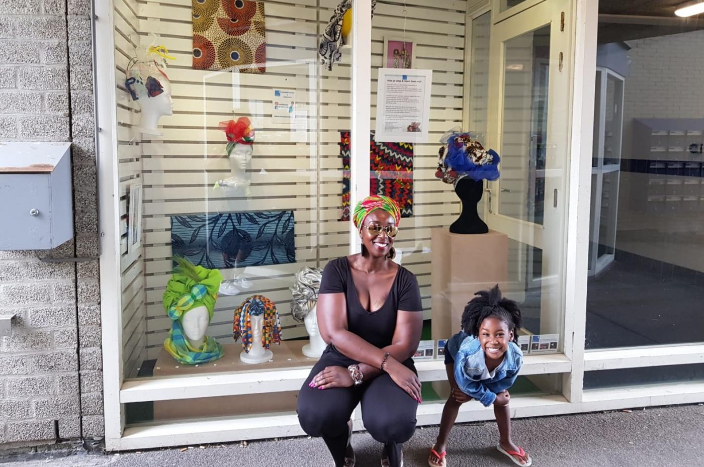 Surinaamse hoofddoeken van Diana Ritfeld