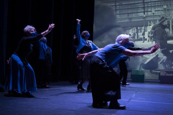 Age Friendly Houten: plaatselijke verhalen transformeren tot dansvoorstelling