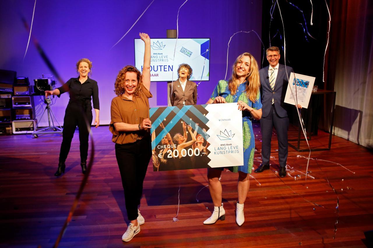 Houten blij verrast met winnen prijs!  / C: Daniëlle van Coevorden