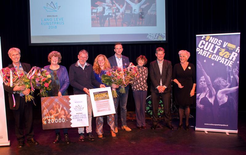 Gemeente Emmen wint BNG Bank Lang Leve Kunstprijs 2018
