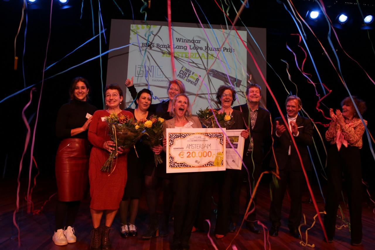 Amsterdsam sleept BNG Bank Lang Leve Kunstprijs 2016 in de wacht