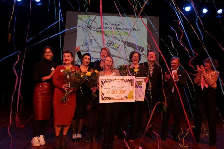 Amsterdam wint BNG Bank Lang Leve Kunstprijs 2016