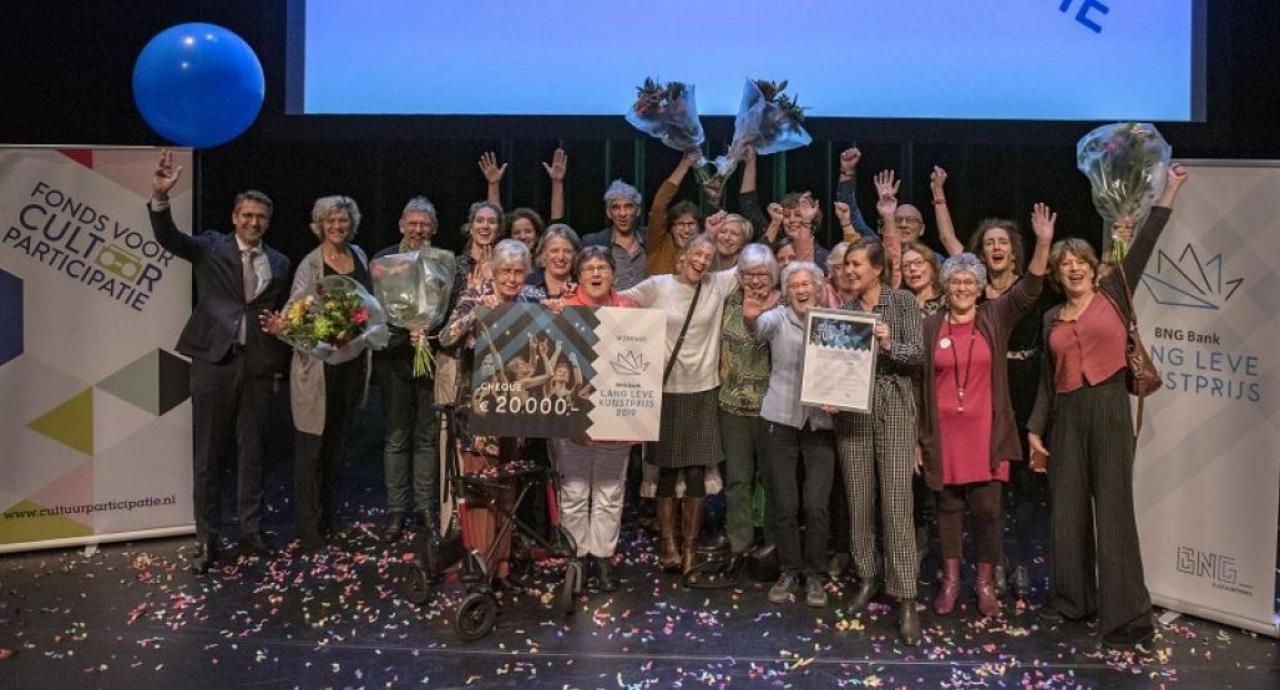 Gemeente Haarlem blij verrast als winnaar van de BNG Bank Lang Leve Kunstprijs 2019